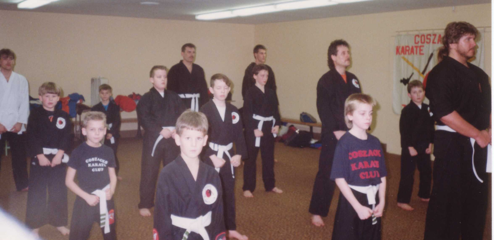 Class at ymca 1990