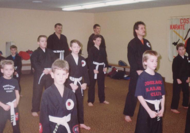 Class at ymca 1990