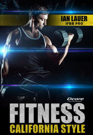 Fitness California Style Poster Image re