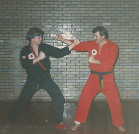 early moore and hardwich sparring stance