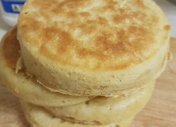 Home-baked Crumpets w/ Honeycomb Butter (6 pieces)
