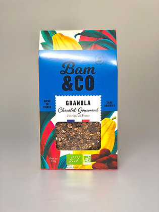 Granola Chocolat Gourmand Bio