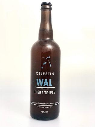 Bière Blonde Triple - Wal 8.3% - 75cl
