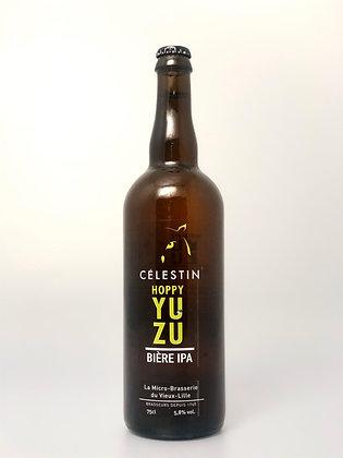 Bière Blonde IPA - Hoppy Yuzu 5.8% - 75cl