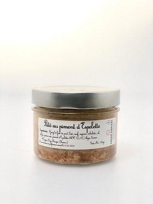 Pâté au Piment d'Espelette - 180G