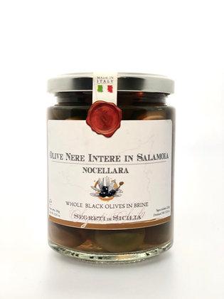 Olives Noires Nocelara Belice Naturel