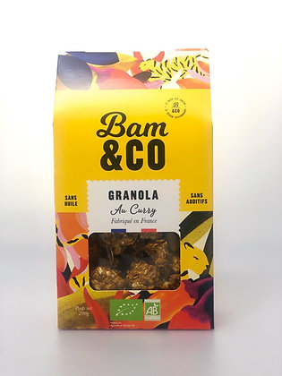 Granola Curry Bio