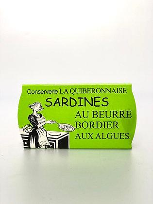 Sardines Beurre Bordier Algues