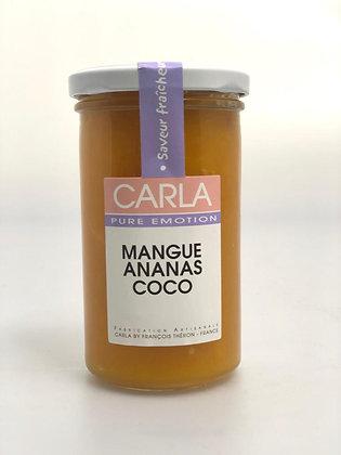 Confiture Mangue Ananas Coco - 300G