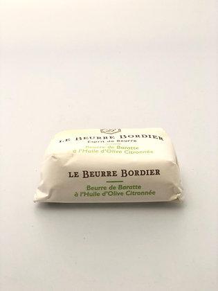 Beurre Huile D'Olive Citronnée - 125G