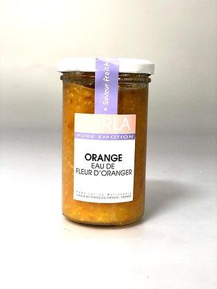 Confiture Orange & Eau de fleur d'oranger - 300G