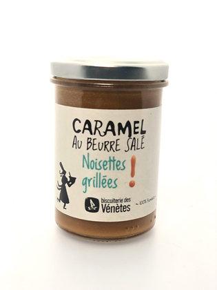 Crème de Caramel Noisettes Grillées Bio