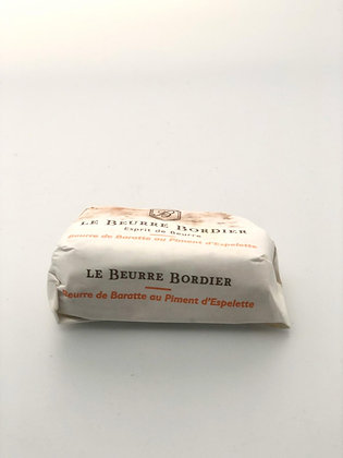 Beurre Piment Espelette - 125G