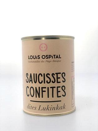 Saucisses confites - 450G