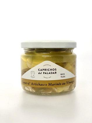 Coeurs d'Artichauts Caramélisés Au Vinaigre 10/12 Pièces