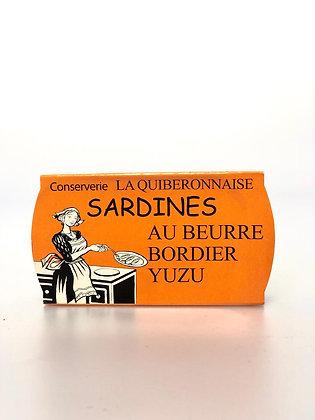 Sardines Beurre Bordier Yuzu