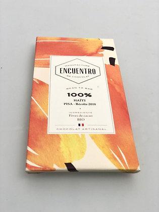 Chocolat Bio Haïti 100% - 75G