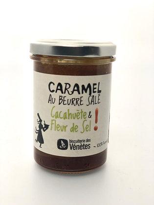 Crème de Caramel Cacahuète Fleur De Sel Bio - 220G