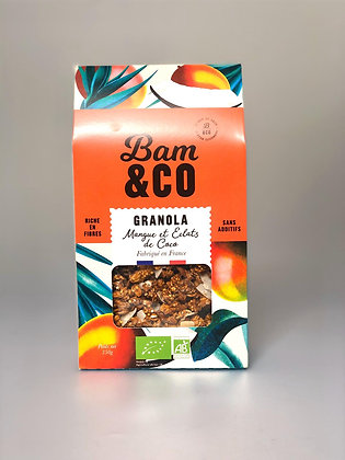Granola Mangue Eclat De Coco Bio
