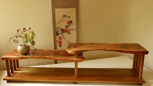Chigaidana Shelf