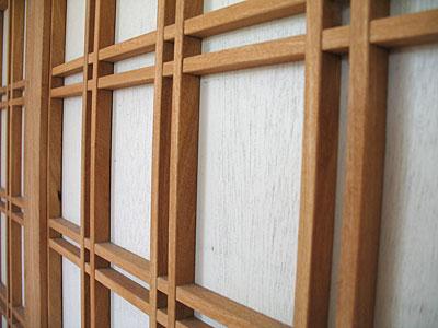 Shoji Door Detail