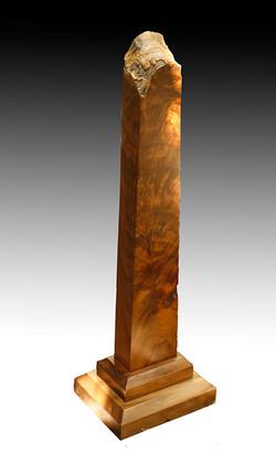 (d) wood-art totem