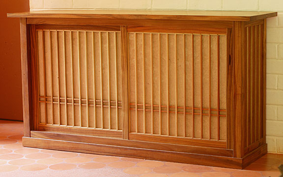 Tansu Japanese Sideboard