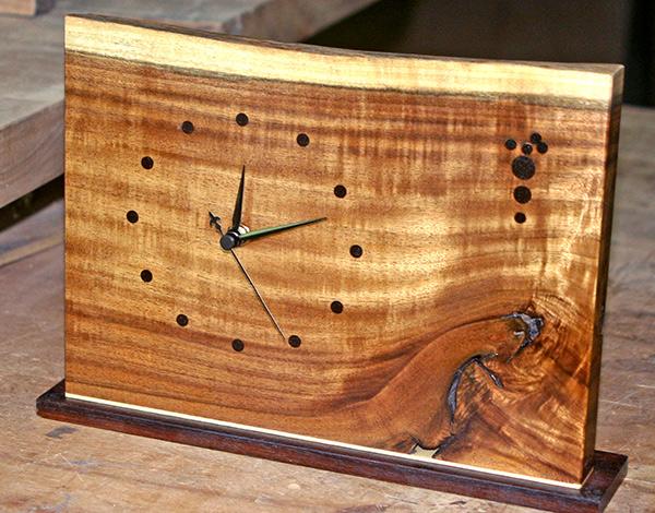 (161a) Wooden standing clock