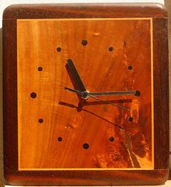 (161e) Wooden framed clock