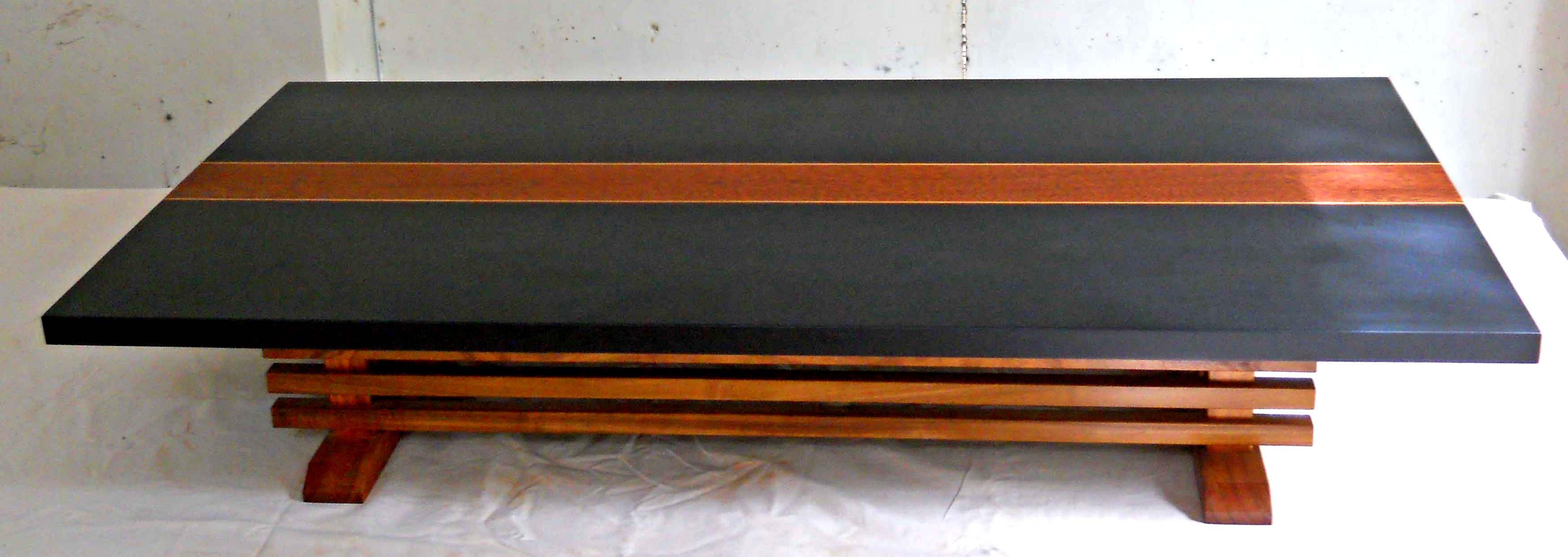 (027-B) Nakazuka table in Black