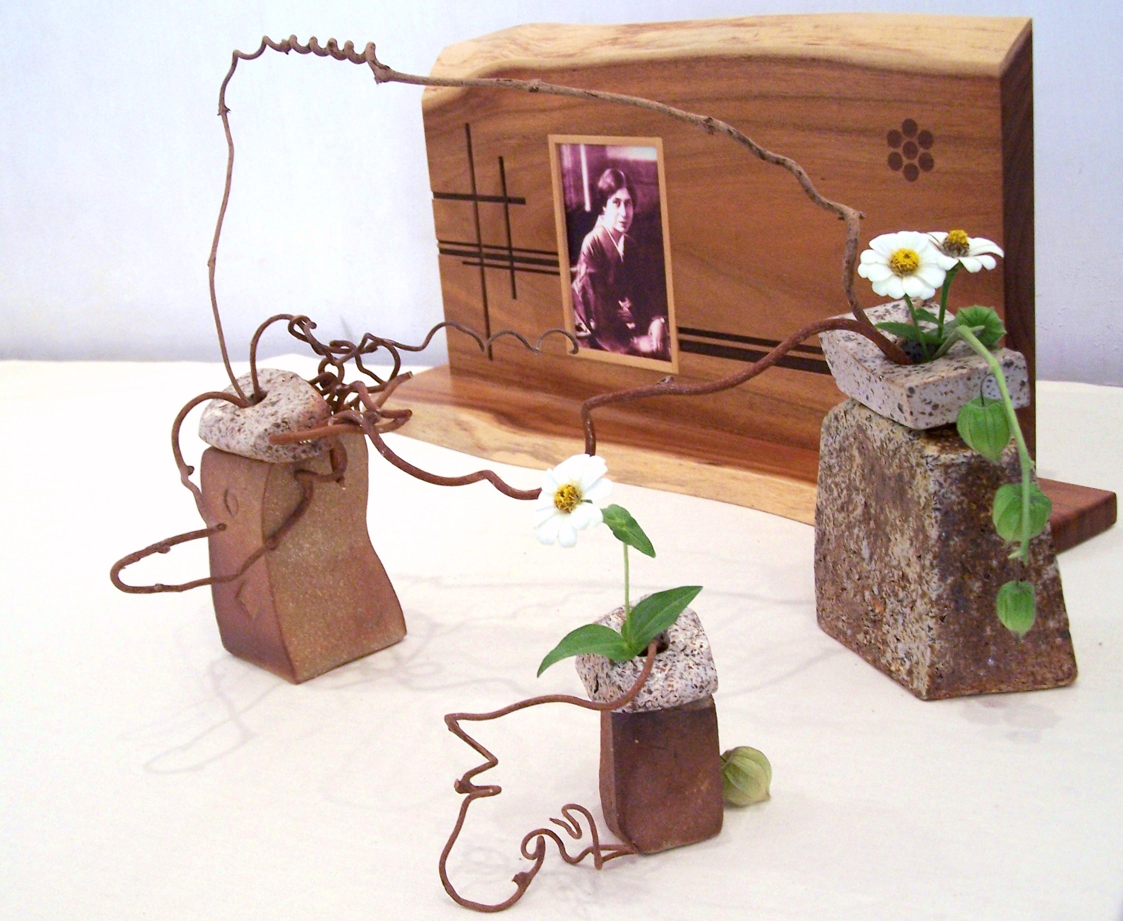(063) Wooden Art Board with photo