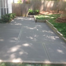 Concrete Patio Houston