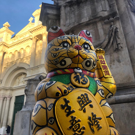 The All-Seeing Lucky Cat