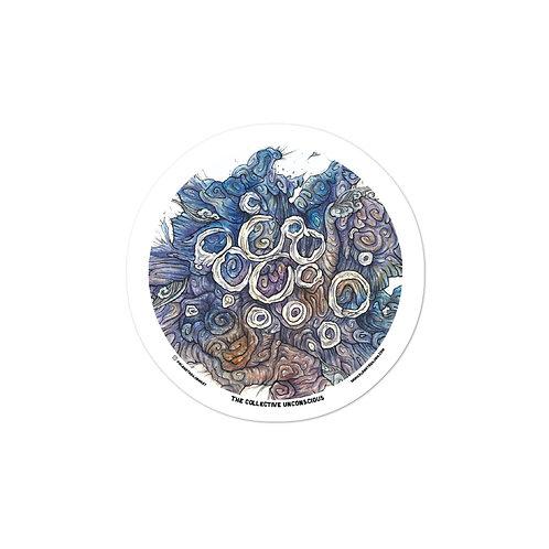 "Collective Unconscious Series - Sticker 2 - ""Flow"""