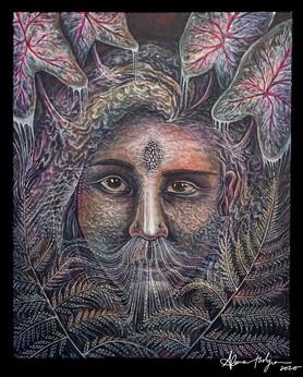 Untitled (Plant-Powered Self-Portrait)