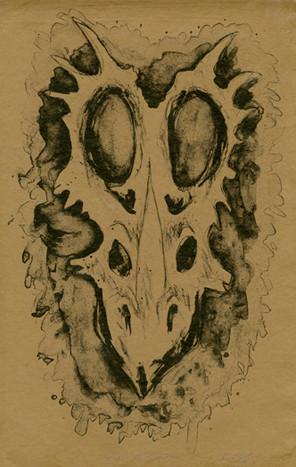 Buried: Styracosaurus