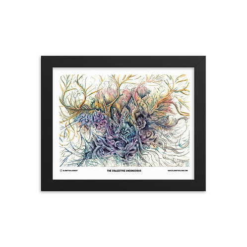 Collective Unconscious Series - Framed Poster 1