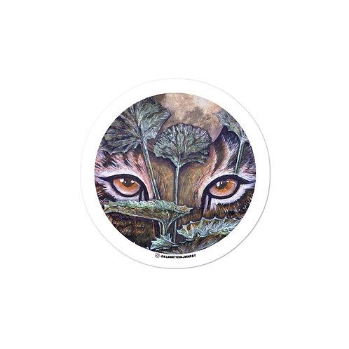 Tiger & Gotu Kola - Sticker