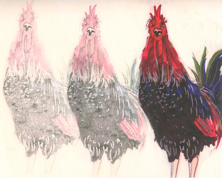 Untitled (Ghost Rooster I)