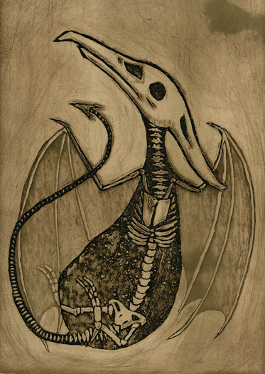 Buried: Pterosaur Fossil