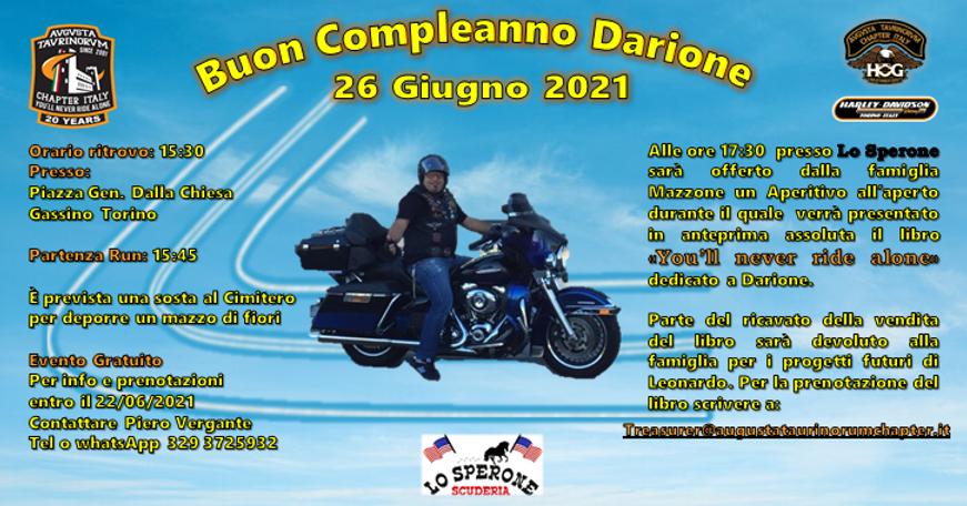 Buon Compleanno Darione