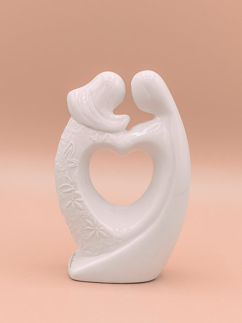 """Statuina in porcellana """"Marito&Moglie"""""""