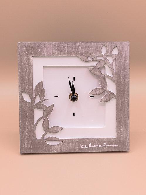 Orologio da appoggio in legno