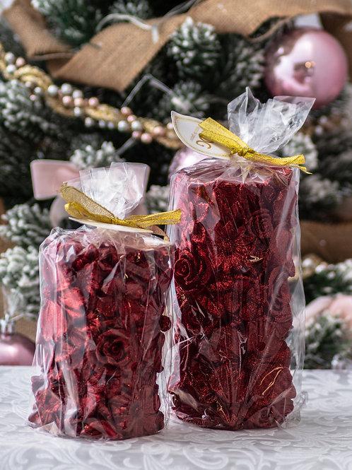 Moccolo natalizio rosso - TG. S