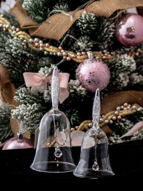 """Campanella in vetro """"Cristalli"""" - TG. M"""
