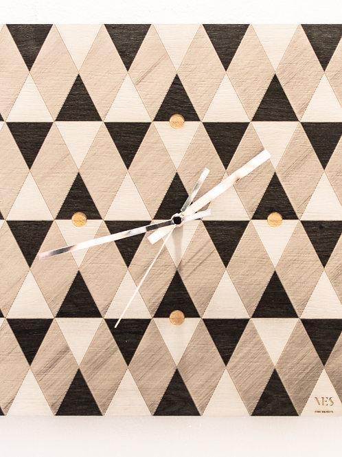 """Orologio da parete VES """"Triangoli"""""""