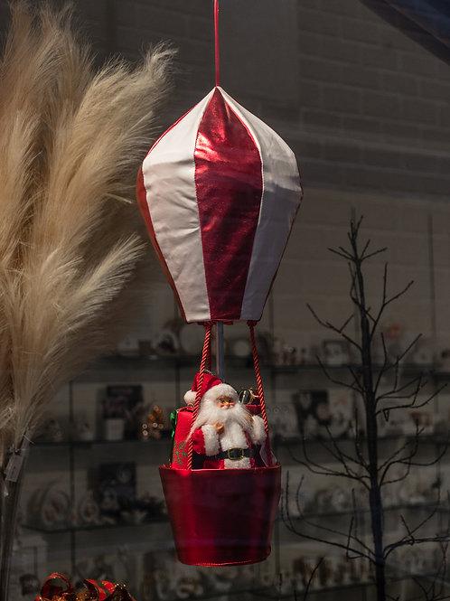 Babbo Natale in mongolfiera