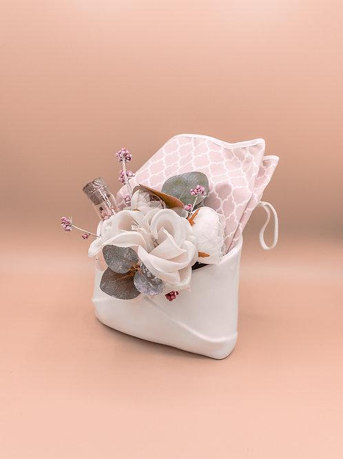Porta lettere in porcellana + kit decorativo