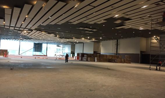 banquets area under construction