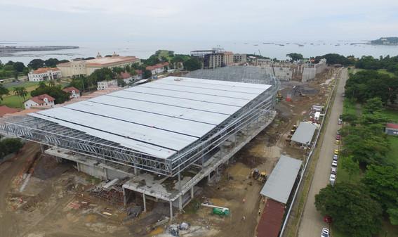 convention center under construction
